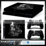 Customized pattern color skin sticker for ps4 vinyl decal cover for Sony playstation 4 n two controller