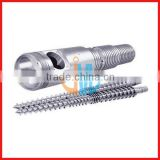 38CrMoALA nitriding conical twin double screw and barrel/twin conical screws and cylinder for PP PVC ABS extruder screw barrel