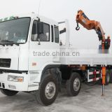 30ton knuckle boom Crane and Accessories,SQ600ZB4, hydraulic truck mounted crane.