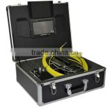 "7"" TFT Color Monitor Pipe Inspection Camera System with 6mm Camera CCTV drain survey"