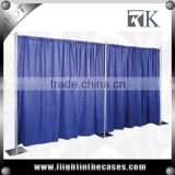Exhibition booth 3x3 china exhibition booth design event wedding aluminum backdrop stand pipe drape