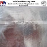 aluminized fiberglass cloth (FSK Materials)/ Double -side aluminum foil backed fiberglass cloth