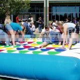 Hola twister game for adults/inflatable twister game/inflatable twister