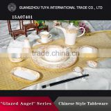 Wholesale fine royal bone china dinnerware sets,chinese and western style ceramic dinnerware sets