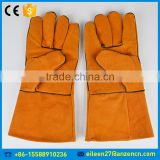 High Temperature Resistance Anti-heat Cow Split Leather Safety Welding Glove
