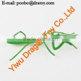 plastic toy mantis statue for child gift