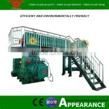 Low output and high products automatic small clay brick making machine