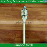 FD-1551821.5m Height bamboo torch, bamboo lamp, bamboo oil torch