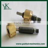 Brass customized cnc machining lead screw, electrice water pump spare parts by cnc turned