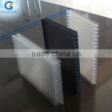 8mm thick building materials polycarbonate double layers panels for Carport Coverings
