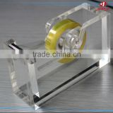 Attractive and durable tape dispenser/book binding stapler