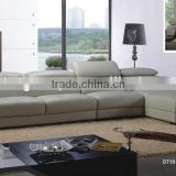Bisini Modern Fashional Leather Hotel Corner Sofa Set (BG90482)