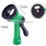 Heavy Duty Metal Water Spray Gun Garden Hose Nozzle 5 and 8 Fuctions Chrome Plated Hand Sprayer