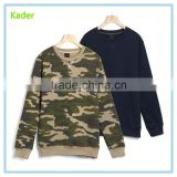 Factory Price Wholesale Camouflage Men Sweatshirt Military Pullover Funny Army Green