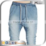 Distressed Men Track Pants Jean Pants, Baggy Harem Pants, Men Jogger Pants