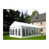 6M Small White Garden Party Tents White Party Gazebo In Backyard 50 People
