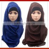 New Fashion Modern Beautiful Muslim Scarf Hijab /New Stylish Girl Wedding Turban Head Wear / Fashion Scarf Malaysia Arab Hijab