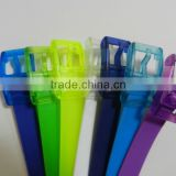 fashion candy color silica gel belts