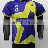 China sublimated football clothing men's soccer jersey