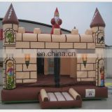 Classical inflatable magician castle, inflatable bouncer castle, air trampoline