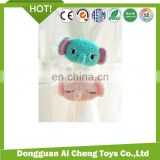 lovely plush elephant toy for curtain