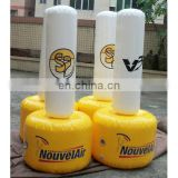 inflatable air buoy cylinder buoy with logo printing for advertisement