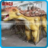 Amusement Park Custom Artificial Carnival Costumes Dinosaur