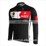 Bicycle Cycling Jersey Men Riding Breathable Jacket Cycle Clothing Bike Long Sleeve Winter Wind Coat