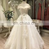 2017 new arrival simple beach gowns wedding dress bridal