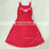 lady silk night gown Wholesale Used Clothing High quality
