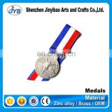 cheap die cut shooting dance hanging sport champion medal