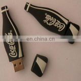 Promotional pvc coco cola usb flash drive