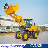 SDLG 3 ton wheel loader LG933L with pilot control and mechanical control