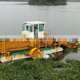 Portable Water Weed Reed harvester In River For Cleaning Weed