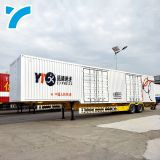 China Cheap Suspension 2 Or 3 Or 4 Axles Box Truck Trailer