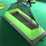 1 person tent ZP015L  Green color backpacking lightweight tents