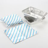Airline Bule Stripe Color Aluminum Foil Sheets