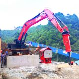 China YZH Brand Stationary Type Pedestal Rockbreaker Boom System