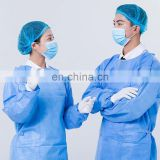 Factory price disposable sterile isolation gowns137*115 38g/m2