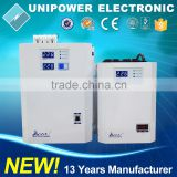 600VA CPU LED Wide Input Full Protection Delay Function Wall Mount Automatic Voltage Stabilizer
