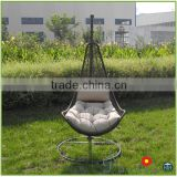 Hotsale Wicker Rattan Compact Patio Furniture Swing Chairs Hanging Chair                                                                         Quality Choice