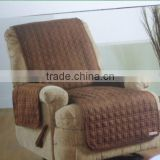 Soft suede waterproof wing chair covers, wholesale cheap chair covers, Chair furniture cover