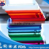 1230mm*2430mm(1.8mm to 20mm thickness) clear and colors cast Acrylic sheet