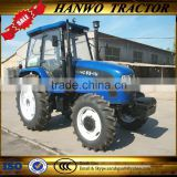 best quality and newest model flat floor 110hp 4wd farm wheel tractor with hydraulic system and three point linkage