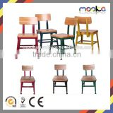 Hot Sale Metal Frame Wooden Seat Lyon Industrial Chair