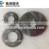 zhuzhou tungsten carbide factory supply small tungsten carbide saw blade for metal cutting