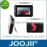 Analog TV/Digital LCD TV/mini lcd portable dvd player