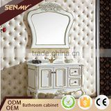 Modern Corner Bathroom Cabinet European Floor Model Bath Vanity