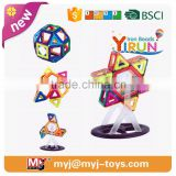 JM022429 yirun diy toys magnetic sticks and balls toys indoor games for kids