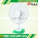 hot sell in south asian abs blades table fan timer